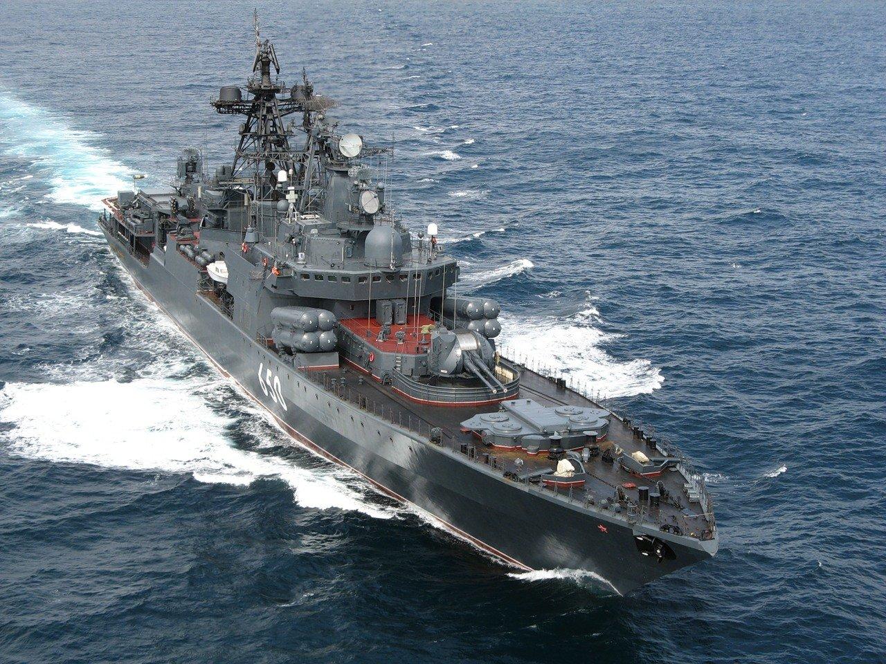 Корабли россии вошли в средиземное