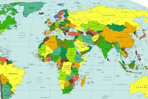 Карта россии карта российской
