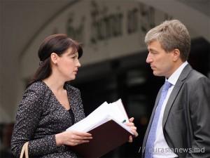 Евгений Карпов и Нина Штански