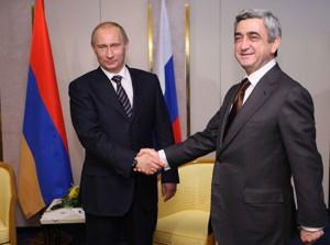 Путин - Саргсян
