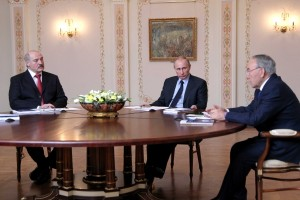 Путин, Лукашенко, Назарбаев