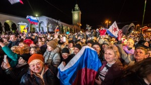 UKRAINE-RUSSIA-POLITICS-CRISIS-CRIMEA-TIMEZONE
