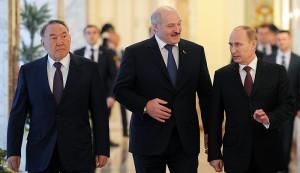 Путин, Лукашенко, Назарбаев2