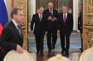 Путин, Лукашенко, Назарбаев1