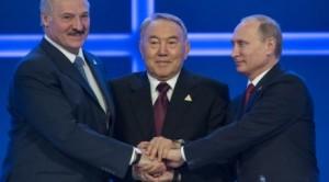 Путин, Лукашенко, Назарбаев6