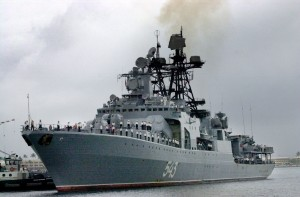 RUSSIAN SHIP ARRIVES IN HONOLULU HAWAII
