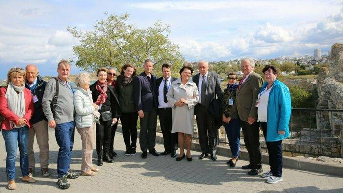 Иностранная делегация в Крыму