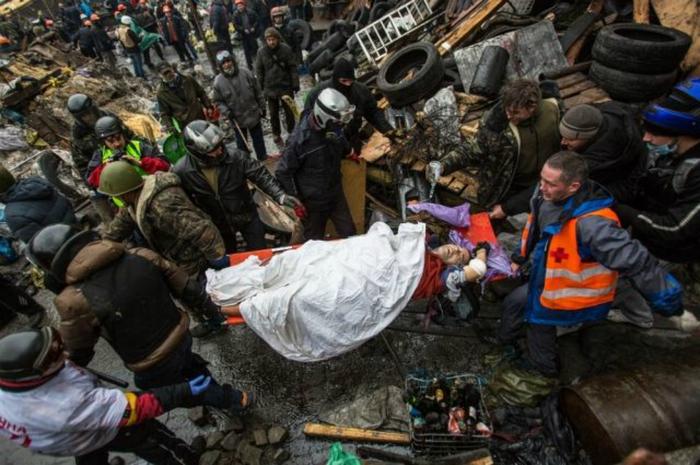 Трагические события в Киеве // РИА Новости, Андрей Стенин