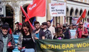 Митинг в Германии против действий НАТО (Neue Osnabrücker Zeitung)