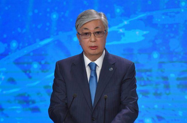 Президент Казахстана Касым-Жомарт Токаев выступил на Валдайском форуме вСочи