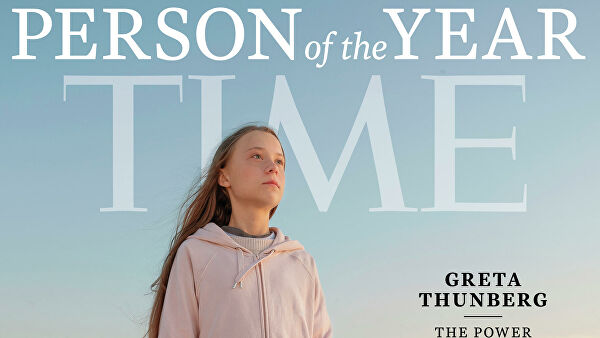 Грета Тунберг - человек года по версии американского журнала Time
