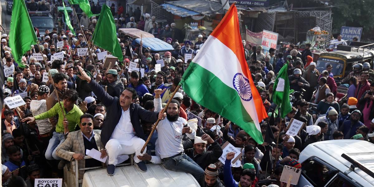 В Индии проходят протесты из-за закона о гражданстве?