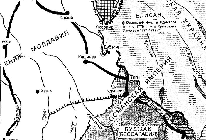 Молдавская Украина - историческая хроника