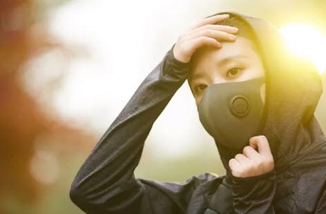 Защитные маски для лица, очищающие воздух — тренд 2020?