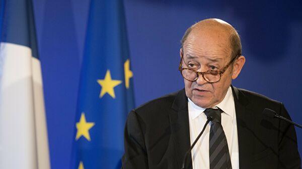 Глава МИД Франции Жан-Ив Ле Дриан: недоверие между ЕС и Россией не должно влиять на диалог по безопасности