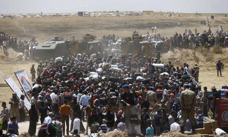 Беженцы Идлиба: демагогия Запада и игры Эрдогана