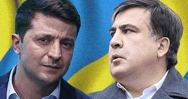 «По пути Порошенко»: Зеленский вернул Саакашвили в украинскую политику