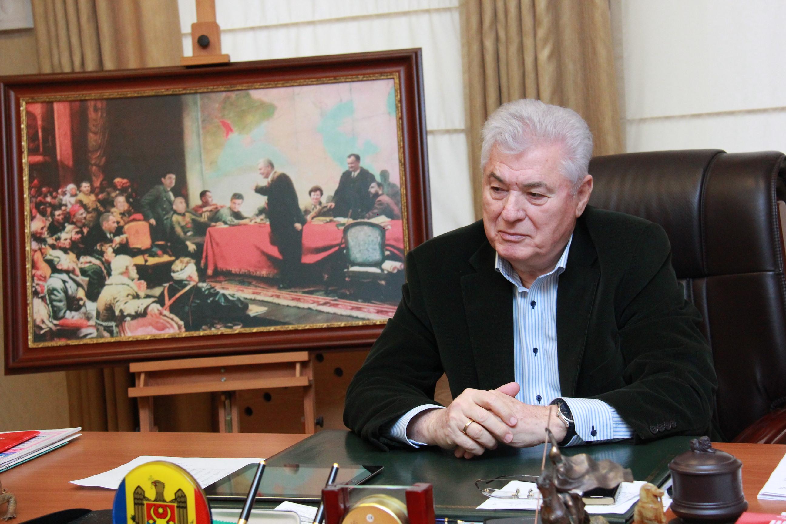 Мыдолжны сохранить суверенитет инезависимость страны— Владимир Воронин