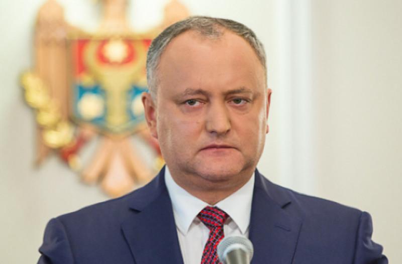Президент Молдавии Игорь Додон призвал жестко реагировать в случае блокирования избирательных участков на выборах
