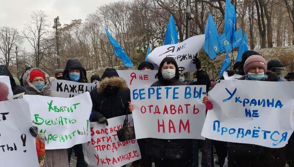 «Умираем от холода и голода»: активист рассказал о реалиях сотрудничества Киева с МФВ