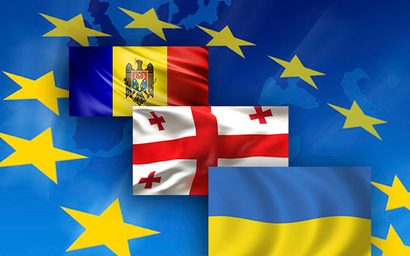 Молдова, Грузия Украина подписали декларацию о стремлении в ЕС